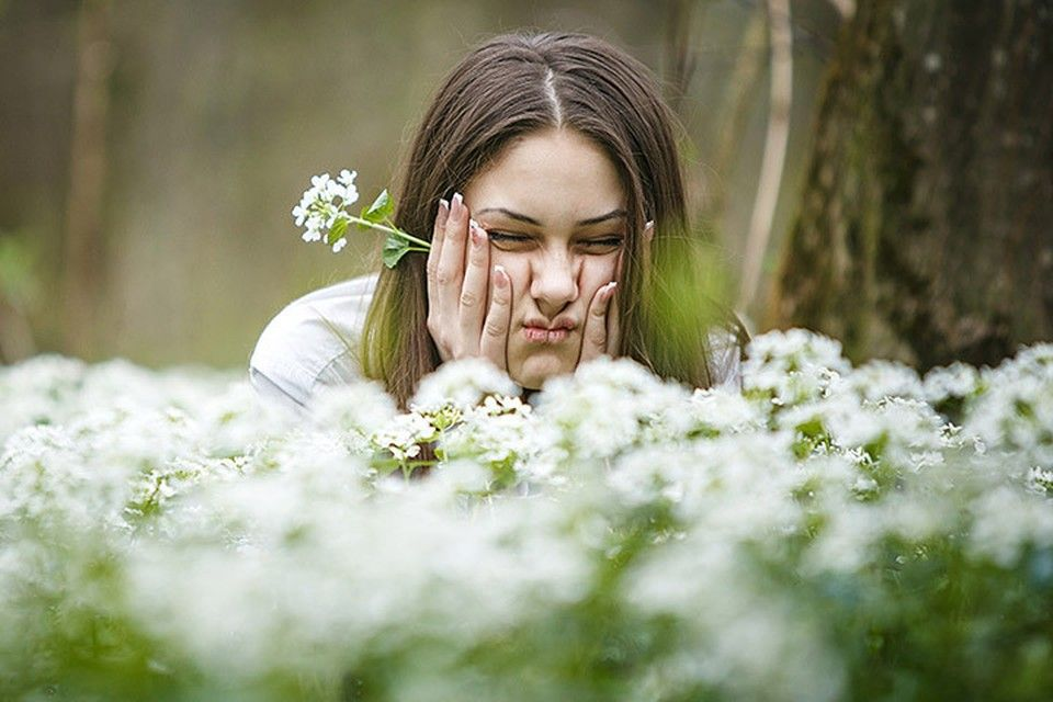 Как спасаться от пыльцы?